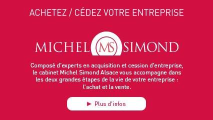 ACHETEZ / CÉDEZ VOTRE ENTREPRISE Composé d'experts en acquisition et cession d'entreprise, le cabinet Michel Simond Alsace vous accompagne dans les 2 plus grandes étapes de la vie de votre entreprise : l'achat et la vente. DÉCOUVRIR