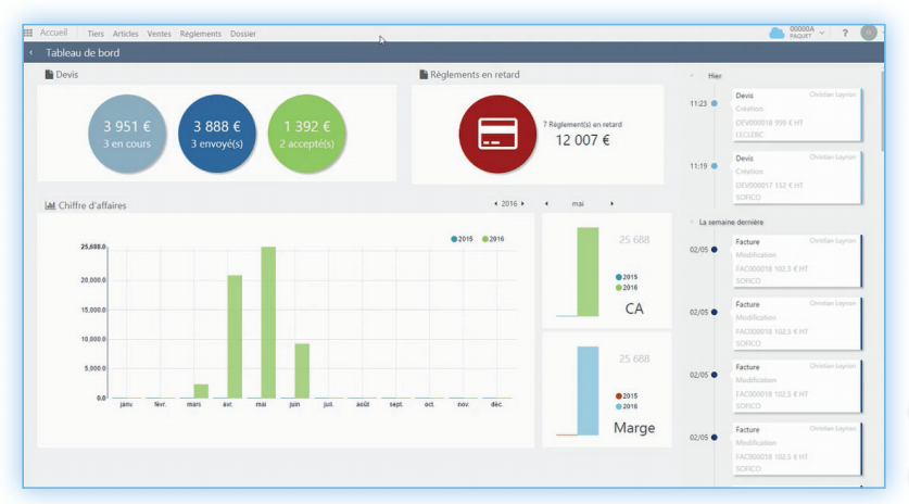 solutions de gestion en ligne hans et associes devis facturation entreprise logiciel