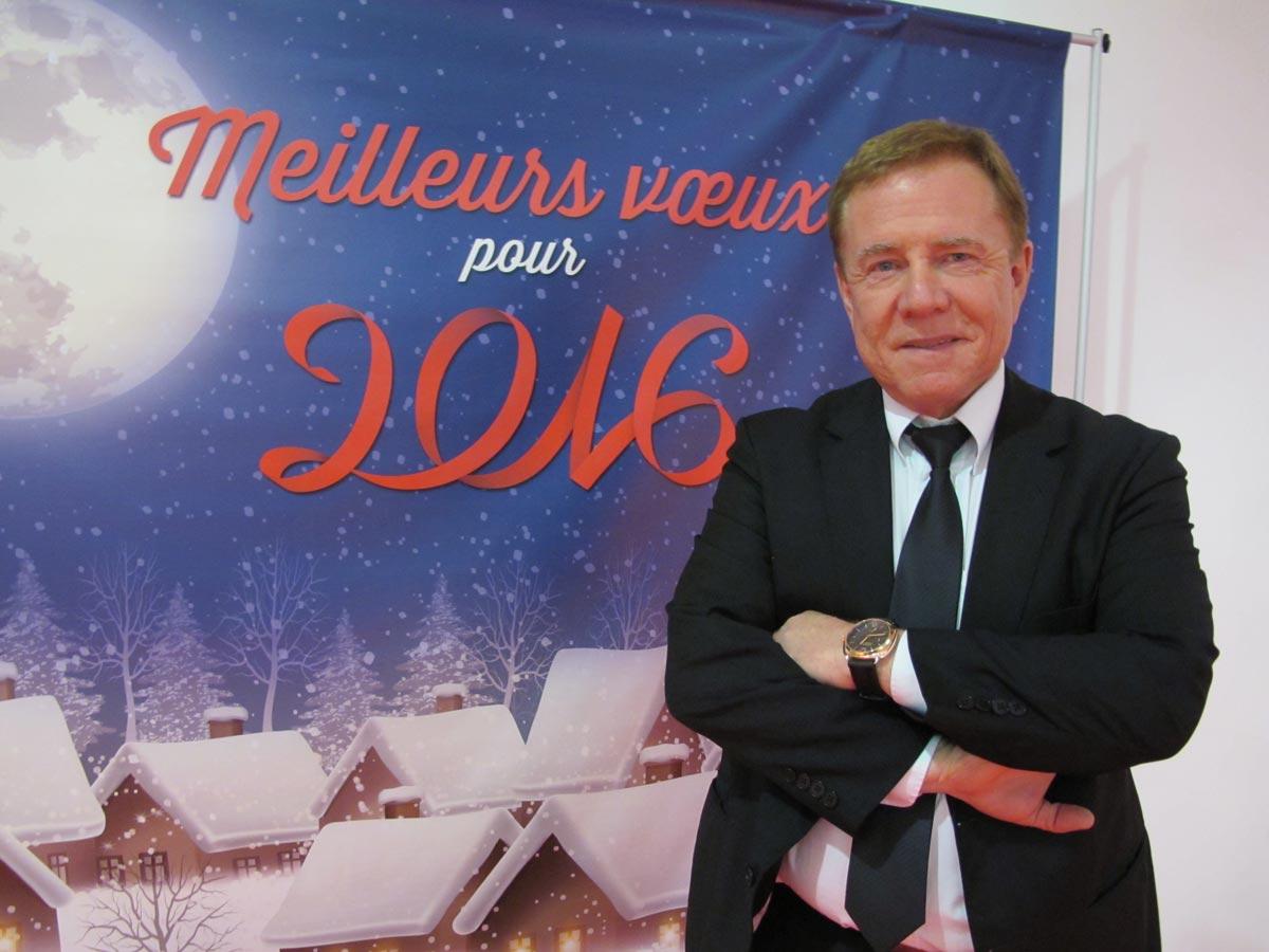 Gilbert Stimpflin, président de la CCI Sud-Alsace Mulhouse