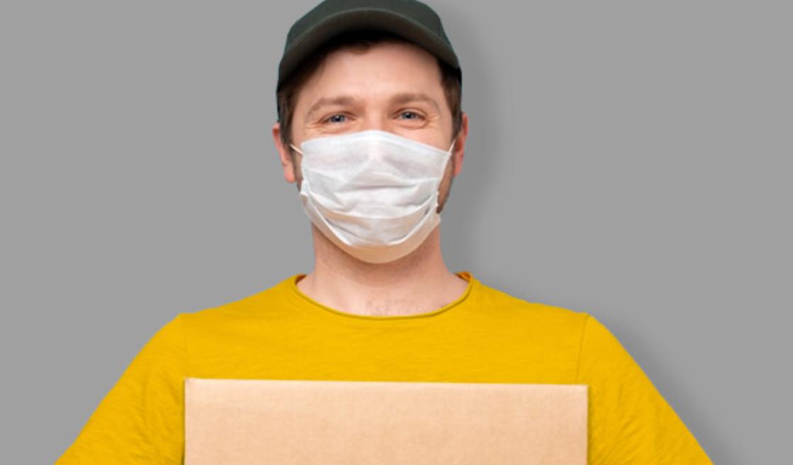 masques pour les entreprises via La Poste
